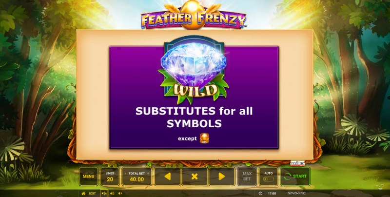 Feather Frenzy :: Wild Symbols Rules