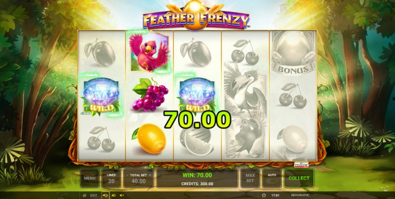 Feather Frenzy :: Multiple winning paylines