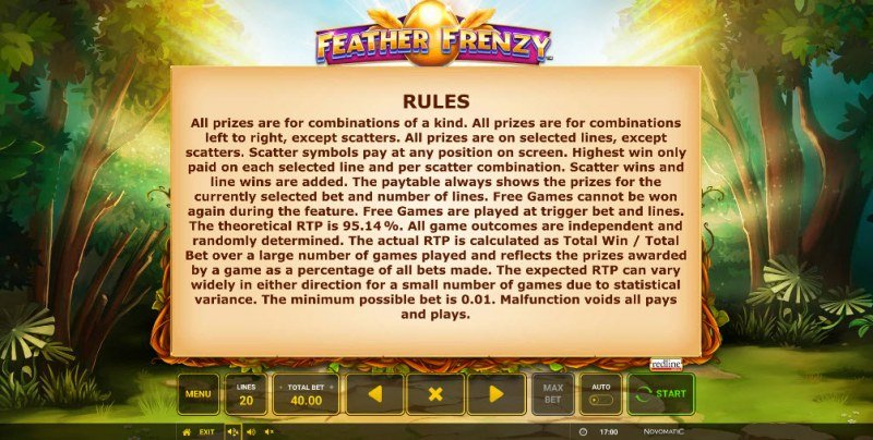 Feather Frenzy :: General Game Rules