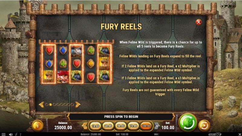 Feline Fury :: Fury Reels