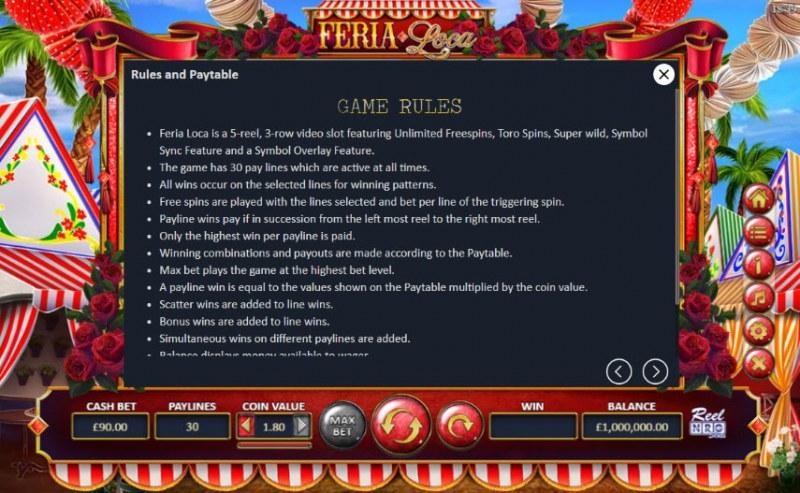 Fera Loca :: General Game Rules