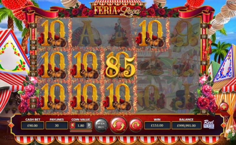 Fera Loca :: Multiple winning paylines