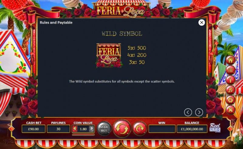 Fera Loca :: Wild Symbols Rules