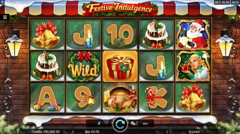 Festive Indulgence :: Main Game Board