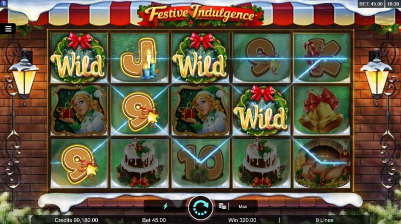 Festive Indulgence :: Multiple winning paylines