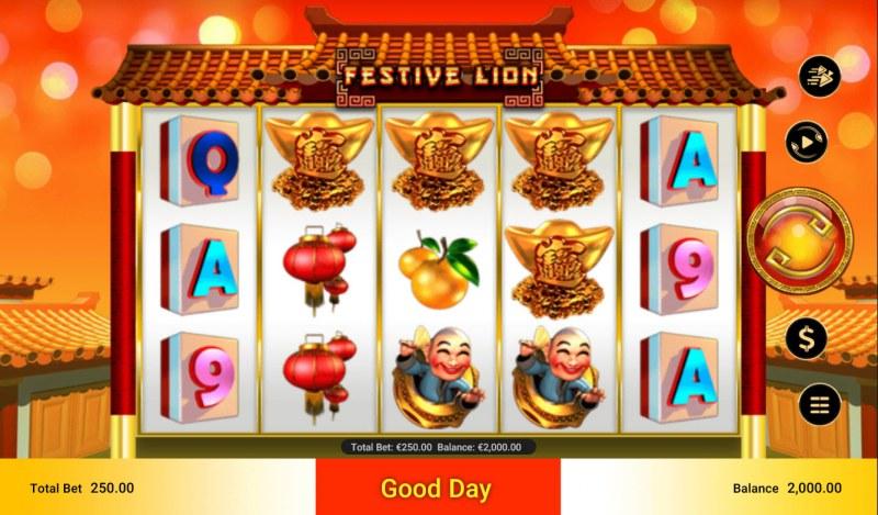 Festive Lion :: Main Game Board