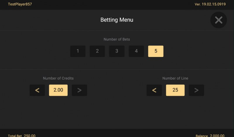 Festive Lion :: Available Betting Options
