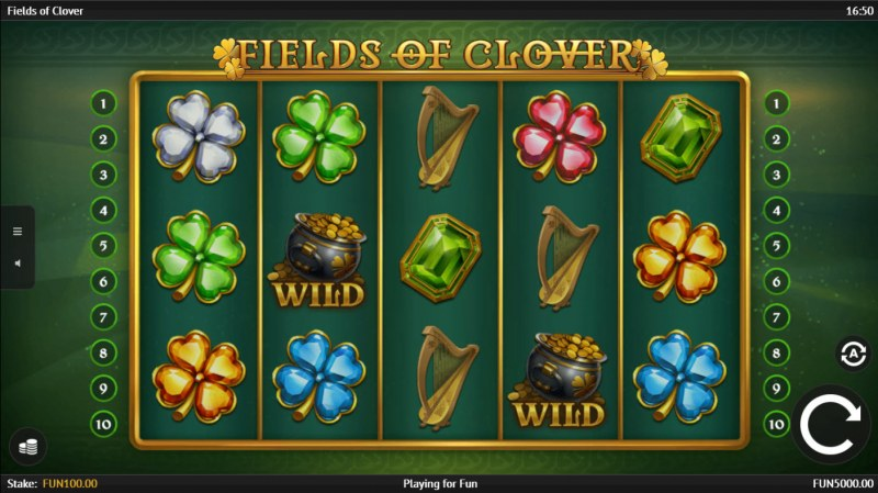 Fields of Clover :: Main Game Board