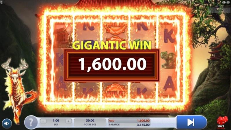 Fiery Kirin :: Gigantic Win