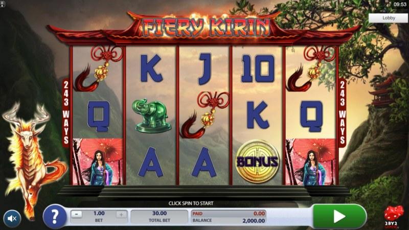 Fiery Kirin :: Main Game Board