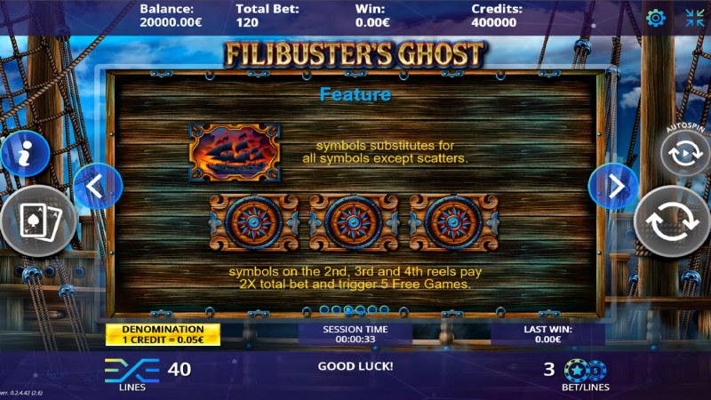 Filibuster's Ghost :: Wild and Scatter Rules