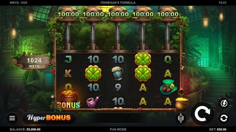 Finnegan's Formula :: Base Game Screen