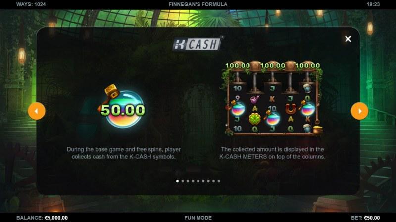 Finnegan's Formula :: K-Cash
