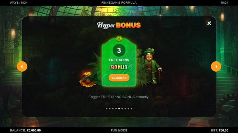Finnegan's Formula :: Hyper Bonus