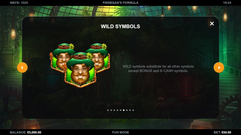 Finnegan's Formula :: Wild Symbol Rules