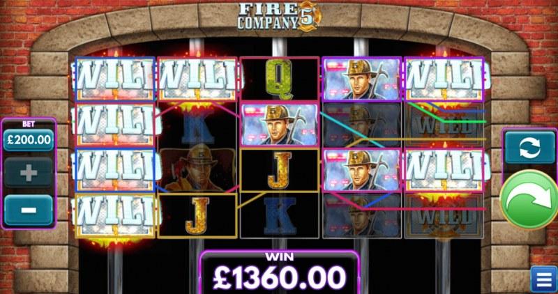 Fire Company 5 :: A five of a kind win