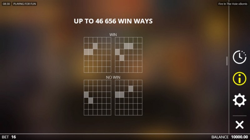 Fire in the Hole :: 46656 Ways to Win