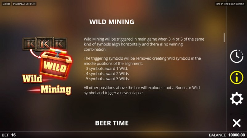Fire in the Hole :: Wild Mining