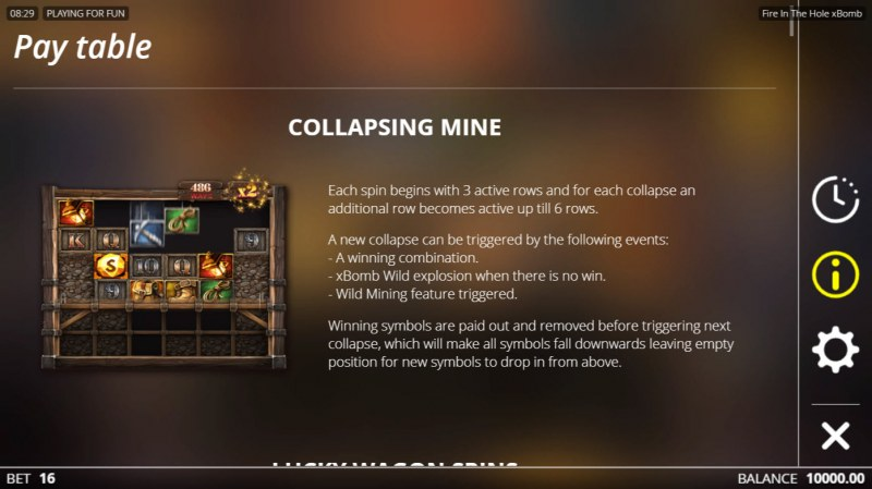 Fire in the Hole :: Collapsing Mine