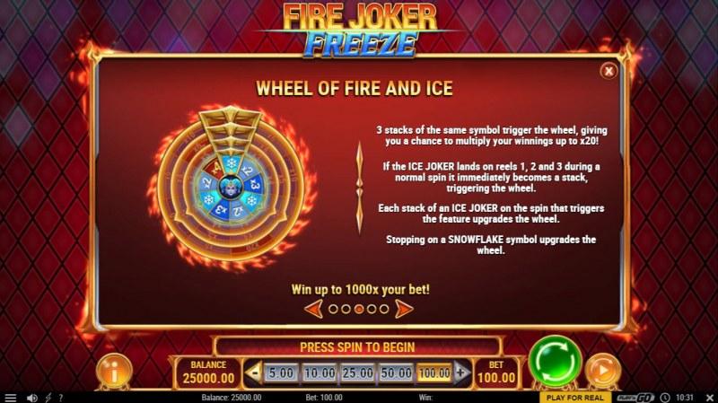 Fire Joker Freeze :: Wheel of Fire and Ice