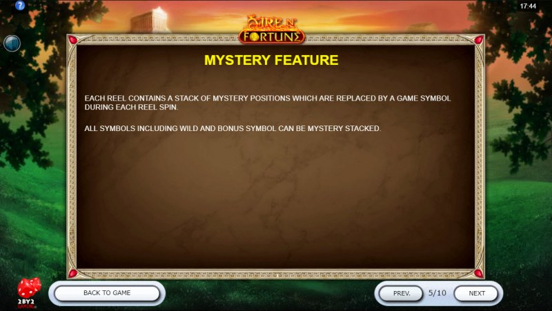 Fire N' Fortune :: Mystery Feature