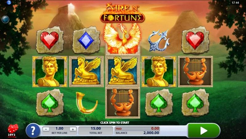Fire N' Fortune :: Main Game Board