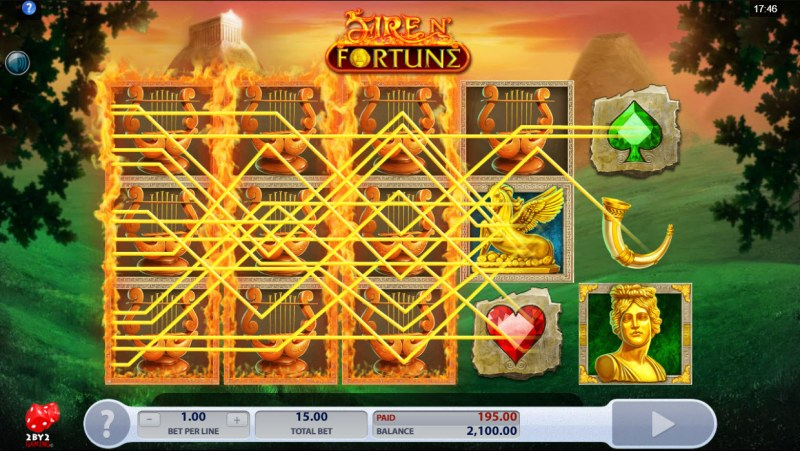 Fire N' Fortune :: Multiple winning combinations lead to a big win