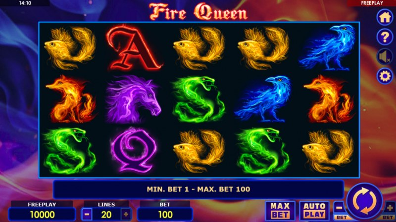 Fire Queen :: Main Game Board