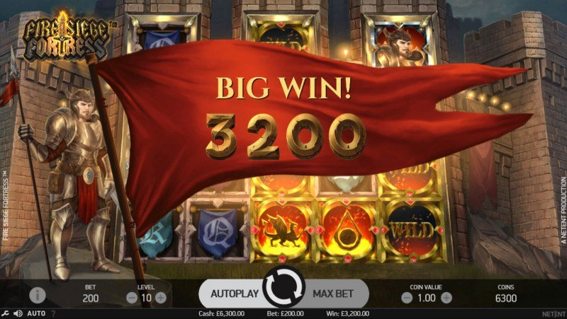 Play slots at Yako Casino: Yako Casino featuring the Video Slots Fire Siege Fortress with a maximum payout of $691,200