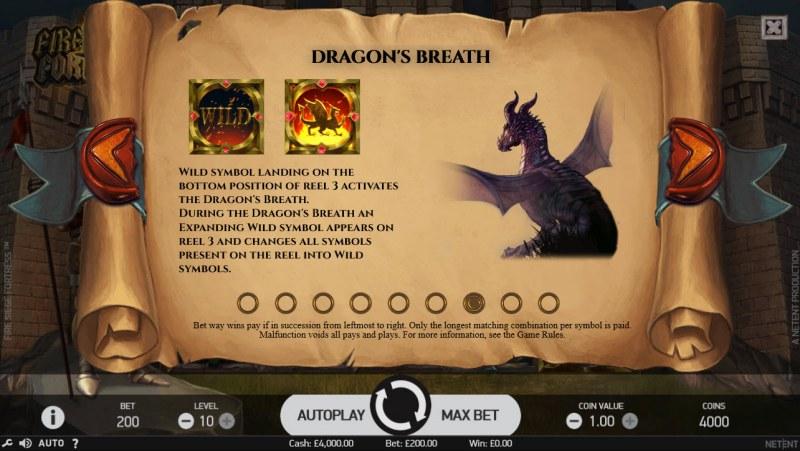 Fire Siege Fortress :: Dragon's Breath