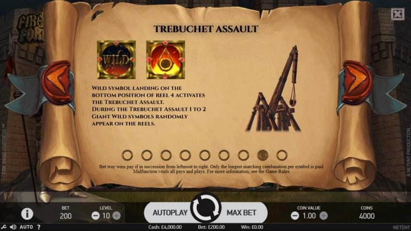 Fire Siege Fortress :: Trebuchet Assault