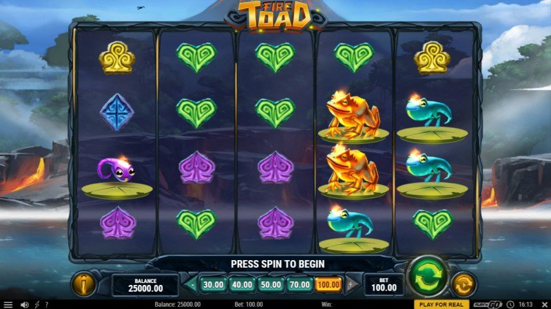 Fire Toad :: Main Game Board