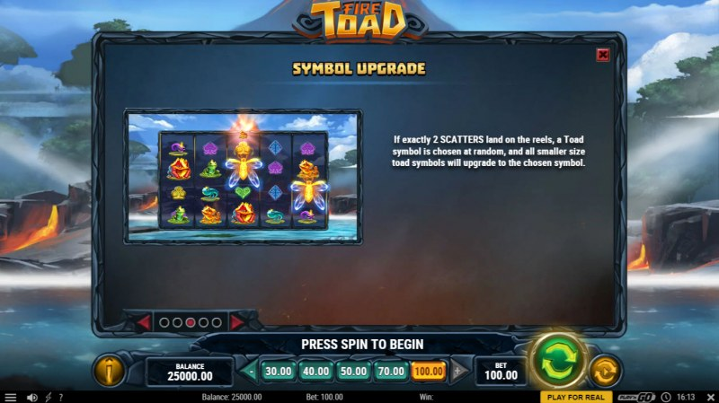 Fire Toad :: Symbol Upgrade
