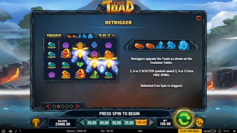 Fire Toad :: Retrigger