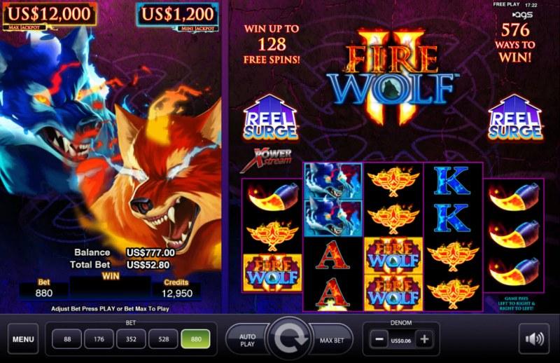 Fire Wolf II :: Main Game Board