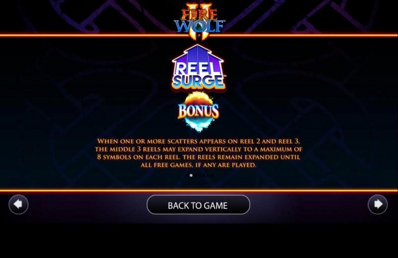 Fire Wolf II :: Reel Surge