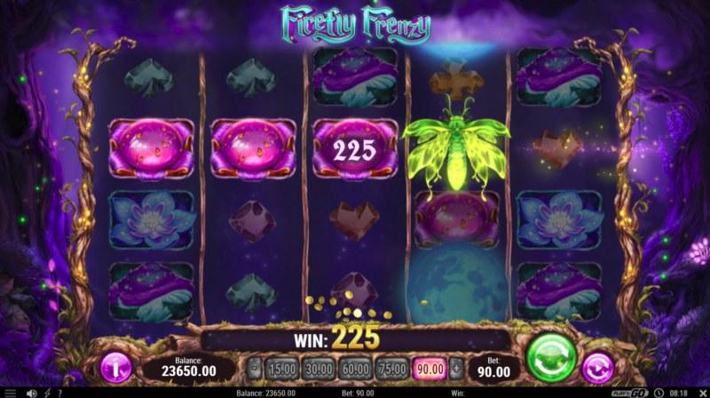 Firefly Frenzy :: Four of a kind