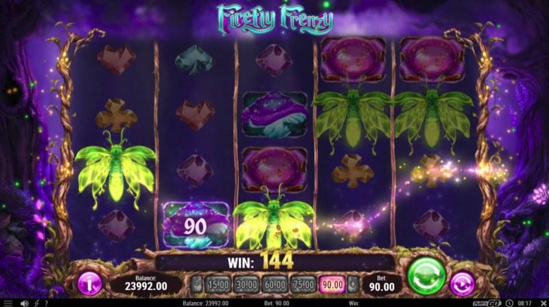 Firefly Frenzy :: Three of a kind