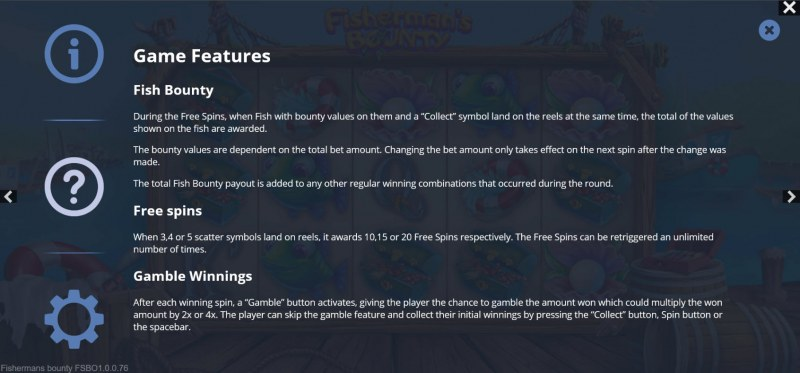 Fisherman's Bounty :: General Game Rules