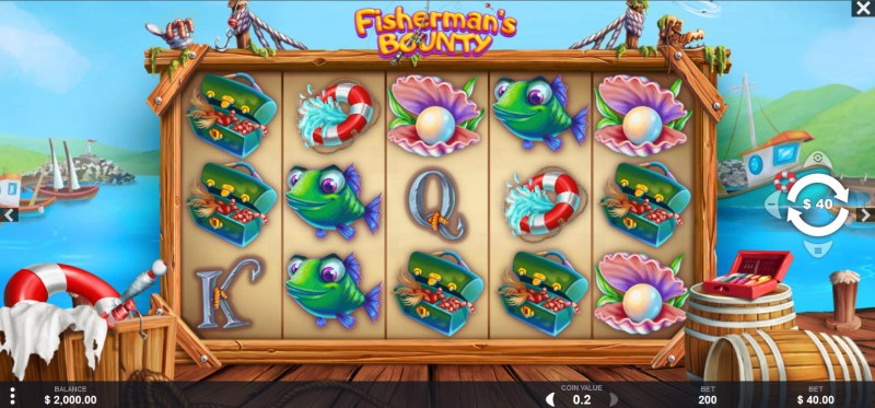 Fisherman's Bounty :: Main Game Board