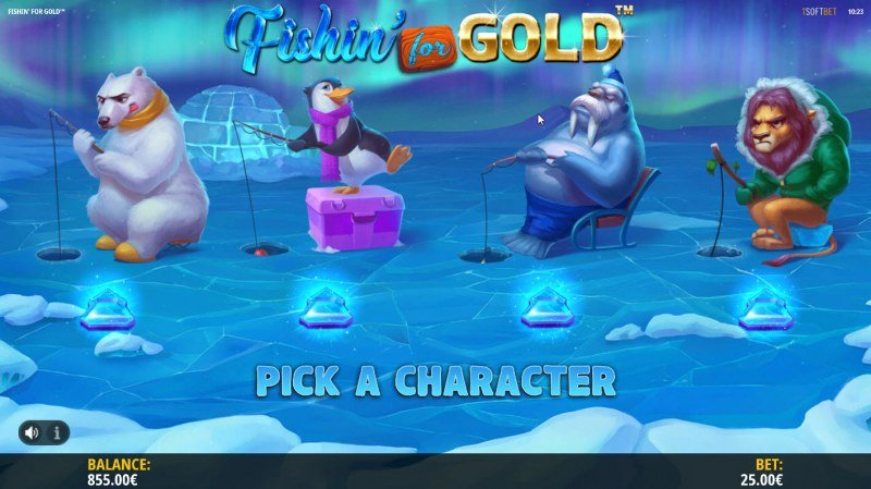 Fishin for Gold :: Pick a Character