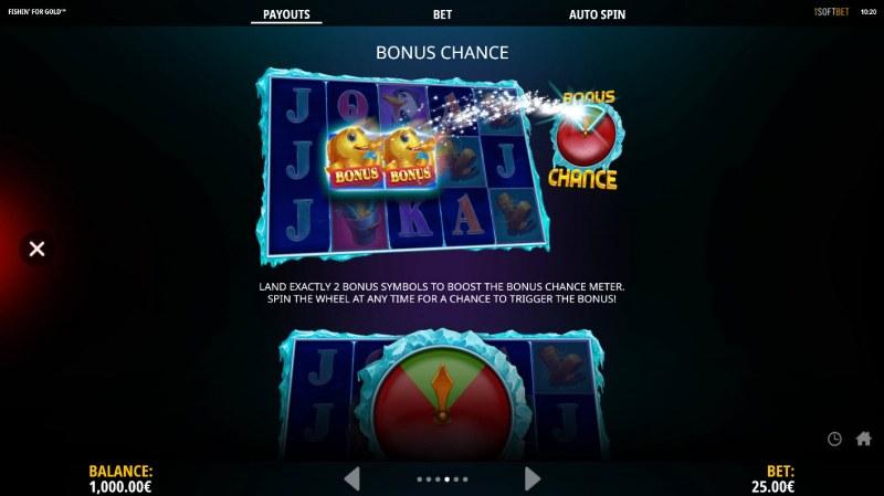 Fishin for Gold :: Bonus Chance