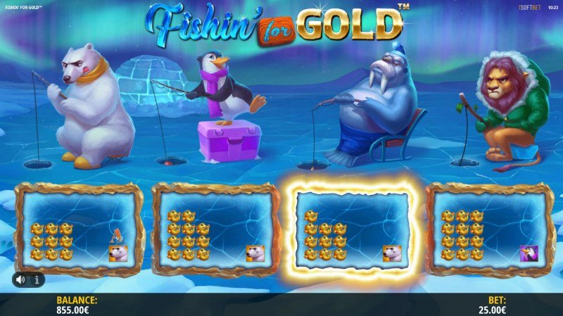 Fishin for Gold :: Total free spins awarded