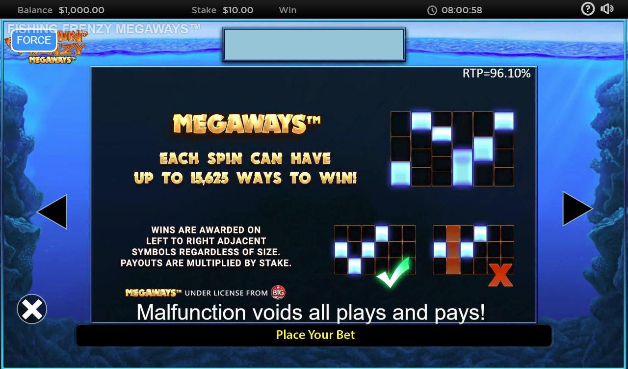 Fishin' Frenzy Megaways :: Megaways