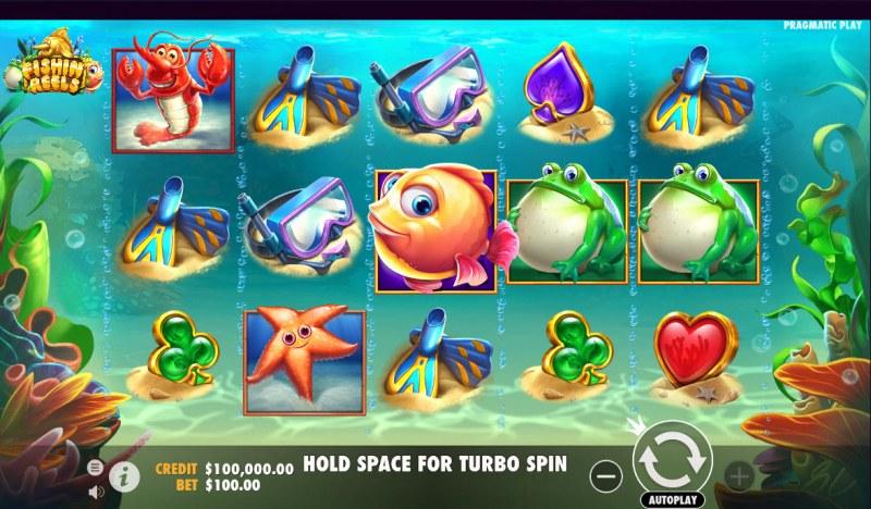 Fishin Reels :: Main Game Board