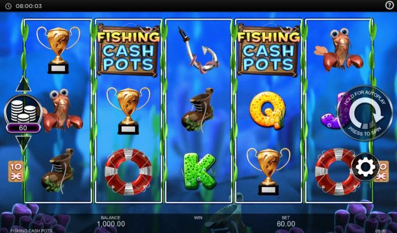 Fishing Cash Pots :: Main Game Board