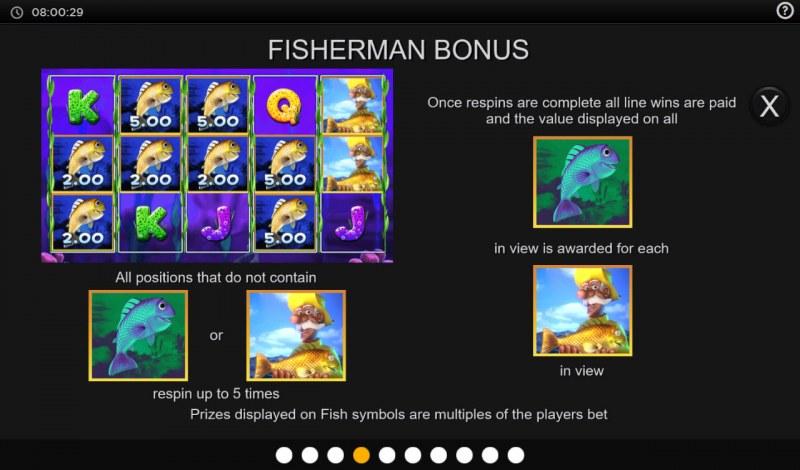 Fishing Cash Pots :: Bonus Feature