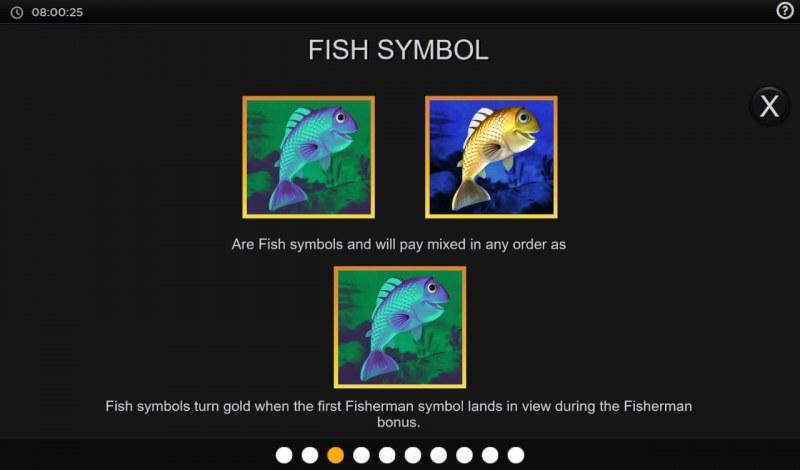 Fishing Cash Pots :: Fish Symbol