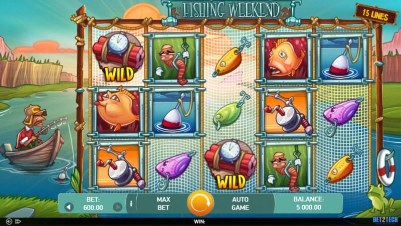 Fishing Weekend :: Main Game Board