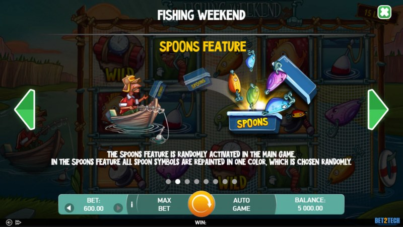 Fishing Weekend :: Spoons Feature